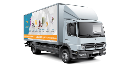 lovell vehicle branding